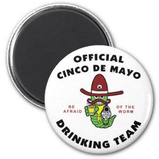 Officiella Cinco de Mayo som dricker laget Magnet