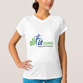Officiella kvinna sport all färdig studioskjorta tshirts