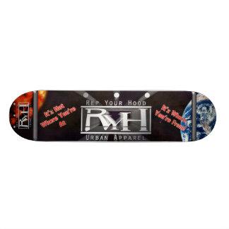 Officielltekniker ditt stads- dräktdäck 4 för huva old school skateboard bräda 18 cm