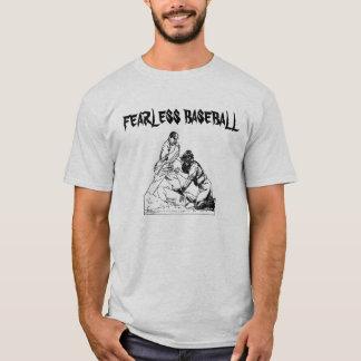 Oförskräckt baseball t-shirt