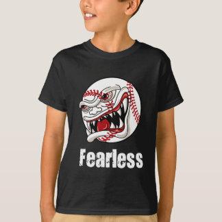Oförskräckt baseballt-skjorta tröjor