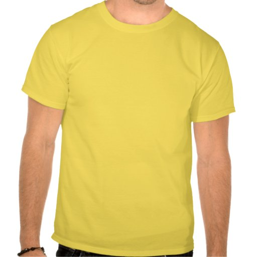 Oförskräckt bi (biet på gul blomma) tee shirts
