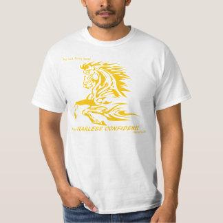 Oförskräckt blek och djupt - gult tshirts