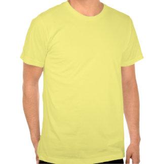 Oförskräckt citron för anpassade tee shirts
