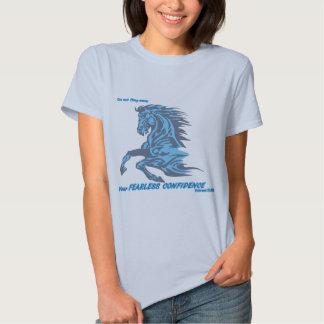 Oförskräckt förtroende t-shirt