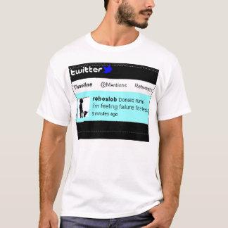 Oförskräckt känsligt fel t-shirt