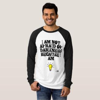 Oförskräckt långärmadt-shirt. för klassiker t-shirts
