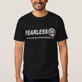 Oförskräckt - realiteten får effekt kampsportar t-shirts
