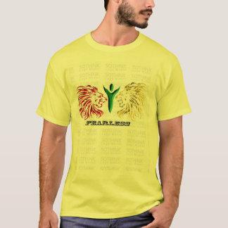 oförskräckt t-skjorta tshirts