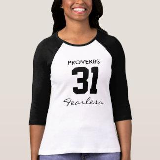 OFÖRSKRÄCKTA Proverbs 31,25 T Shirts