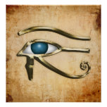 Öga av Horus Print