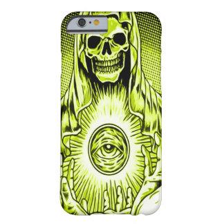 Öga för gud för Skully skalle guld- Barely There iPhone 6 Fodral