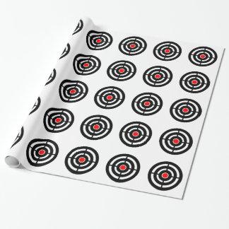 Öga på uppsätta som mål - Bullseyetryck Presentpapper