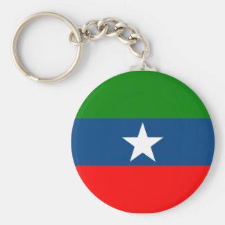 Ogaden Etiopien Rund Nyckelring