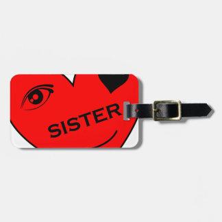 Ögakärlek min syster bagagebricka
