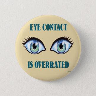 Ögakontakten överskattas standard knapp rund 5.7 cm