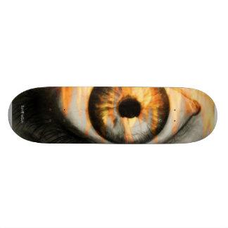 Ögat av avfyrar stiger ombord skateboard bräda 19,5 cm