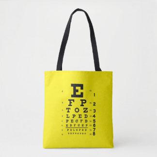 Ögat för stil för oftalmologipopkonst kartlägger tygkasse