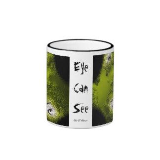 Ögat kan se kaffe kopp