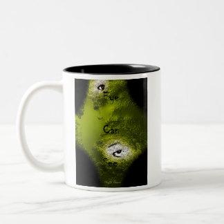 Ögat kan se kaffe koppar