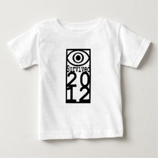 Ögat överlevde 2012 tee shirts