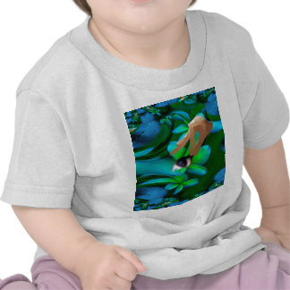Ögat valde blommaprodukten t-shirt