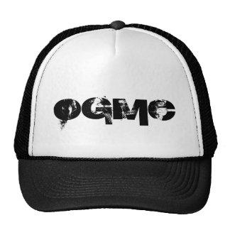 OGMC-vit/svart lastbilsförarelock Keps