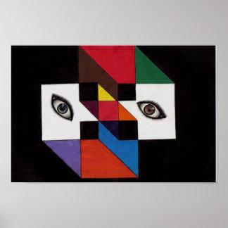 Ögon av färg poster