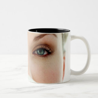 Ögon Två-Tonad Mugg