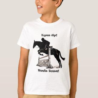 Ögon upp! Häl besegrar! Häst Tee Shirt