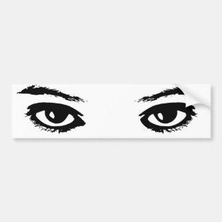 Ögonen har det bildekal