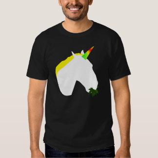 Ogräs som äter unicornT-tröja Tee