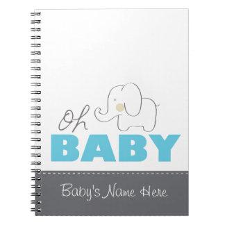 Oh babyelefant - anteckningsbok