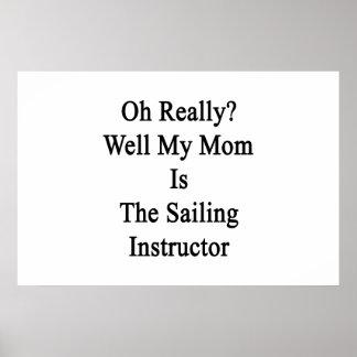 Oh egentligen är brunnen min mamma poster