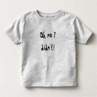 [Oh inget jag gjorde inte!] [barnrolig tröja] T-shirts