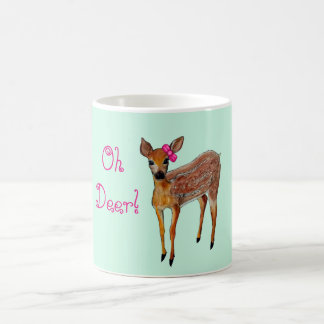 """Oh lismar hjort"" muggen Kaffemugg"