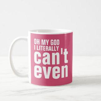 Oh min gud kan jag formligen inte ens kaffemugg