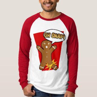 Oh plötslig helgdag för pepparkaksgubbekakajul t-shirt