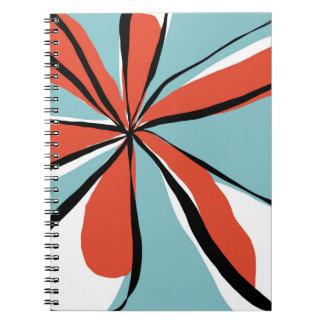 Oh så nätt - aqua - anteckningsbok