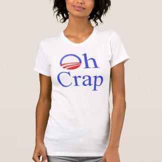 Oh skitAnti-Obama utslagsplats Tee Shirts