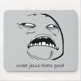 Oh sött Jesus som är bra ursinneansikte Meme Mus Matta