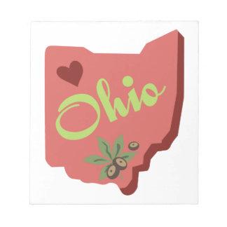 Ohio Anteckningsblock