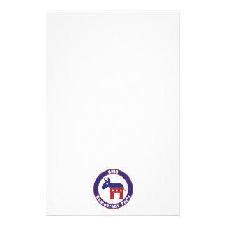 Ohio demokratiska partit brevpapper