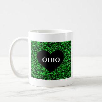Ohio hjärtagrönt kaffemugg