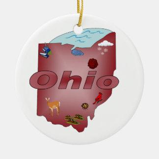 Ohio julgranprydnad julgransprydnad keramik