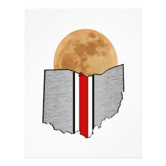 Ohio månsken brevhuvud