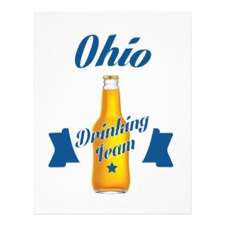 Ohio som dricker laget brevhuvud