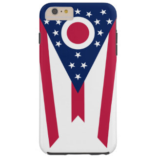 Ohio statlig flagga tough iPhone 6 plus fodral