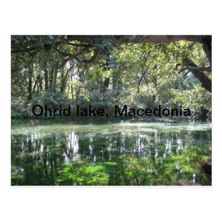 Ohrid sjö, Makedonien Vykort