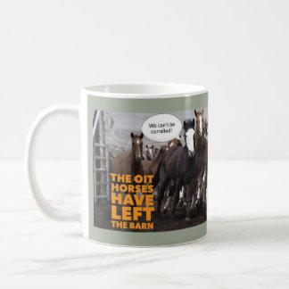 OIT-hästarna… Kaffemugg